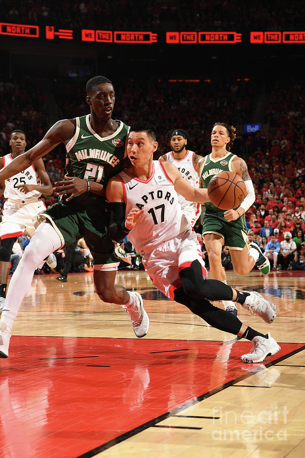 Jeremy Lin Photograph by Ron Turenne