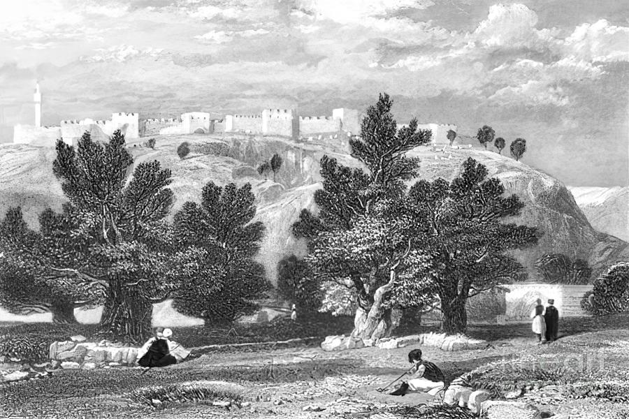 Jerusalem In 1836 Photograph