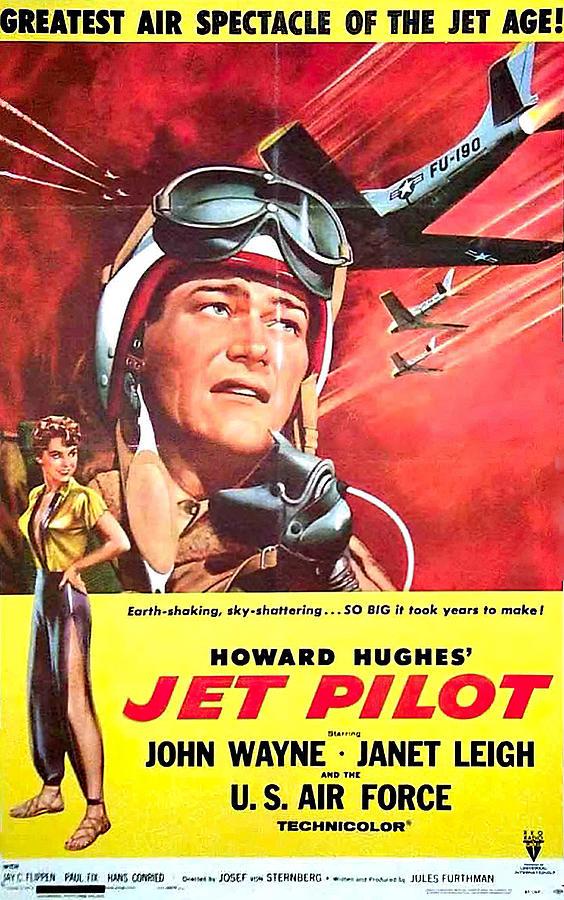 jet Pilot - 1957 Mixed Media