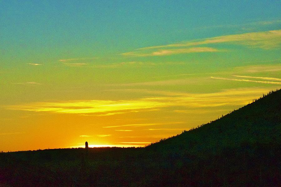 Jewel of the Creek Sunset by Lisa Pandone