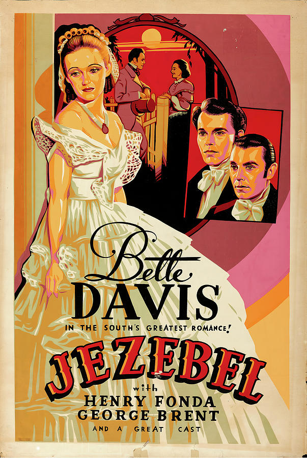 jezebel, 1938 -b Mixed Media