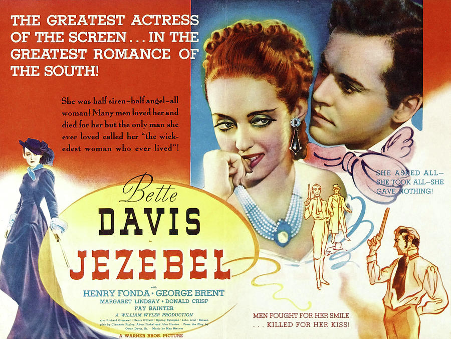 jezebel With Bette Davis And Henry Fonda, 1938 Mixed Media