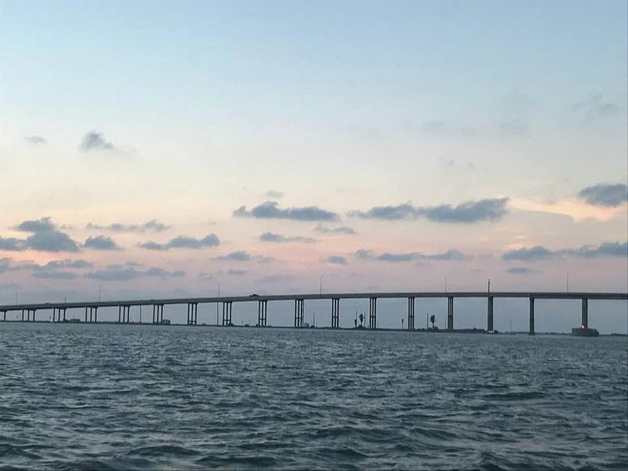Jfk Bridge At Sunset Photograph