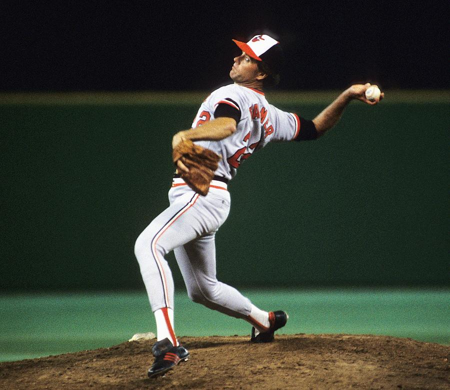 Jim Palmer Photograph by Ronald C. Modra/sports Imagery