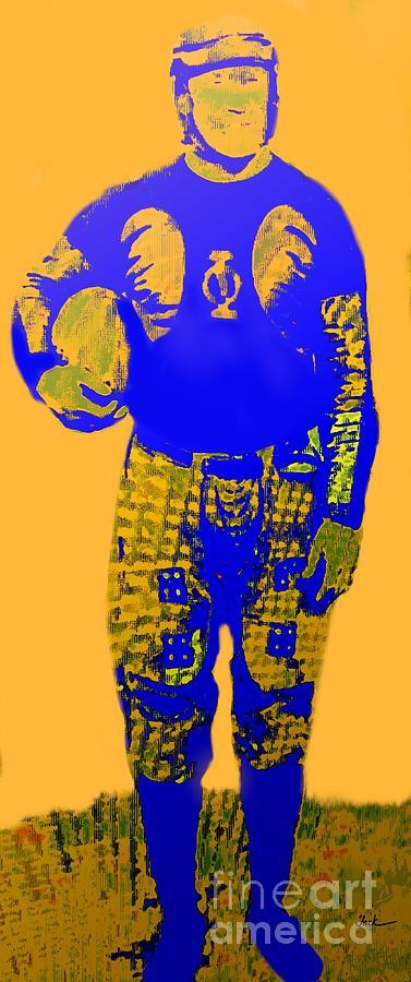 Thorpe Painting - Jim Thorpe by Jack Bunds