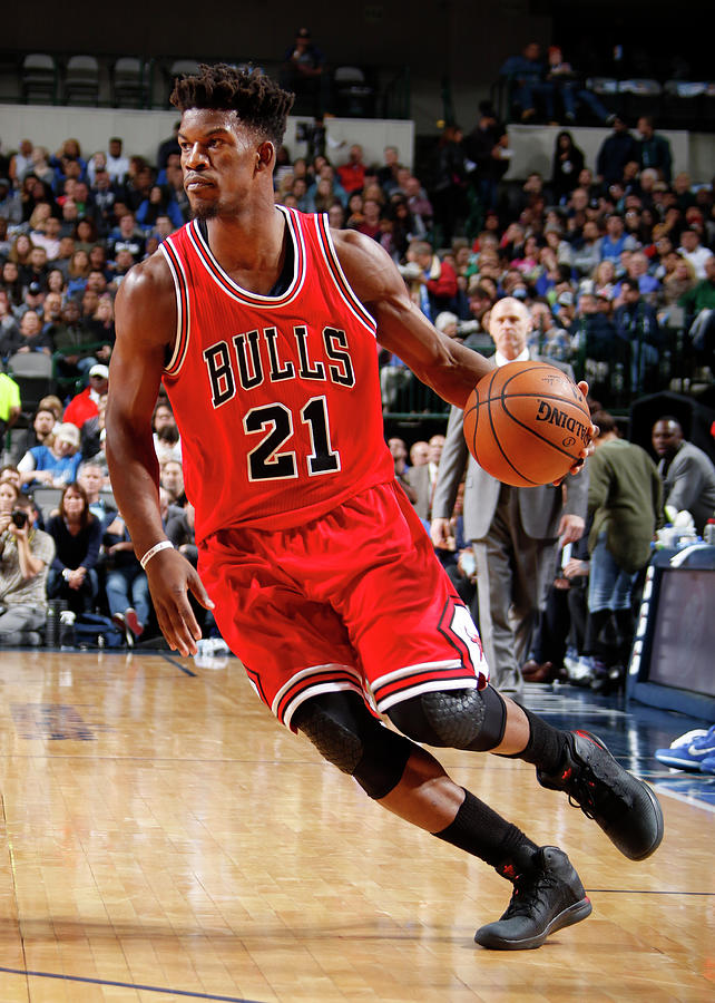 Jimmy Butler Photograph by Danny Bollinger