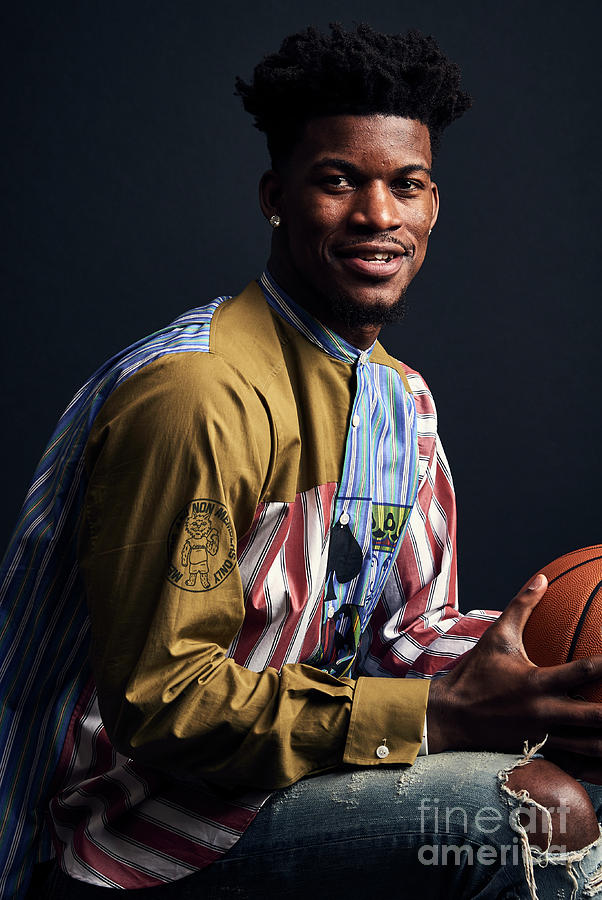Jimmy Butler Photograph by Jennifer Pottheiser