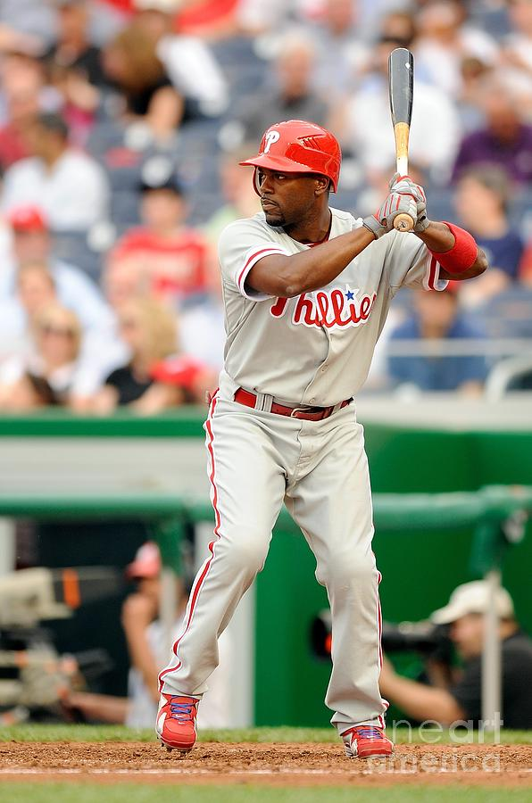 Jimmy Rollins Photograph by G Fiume