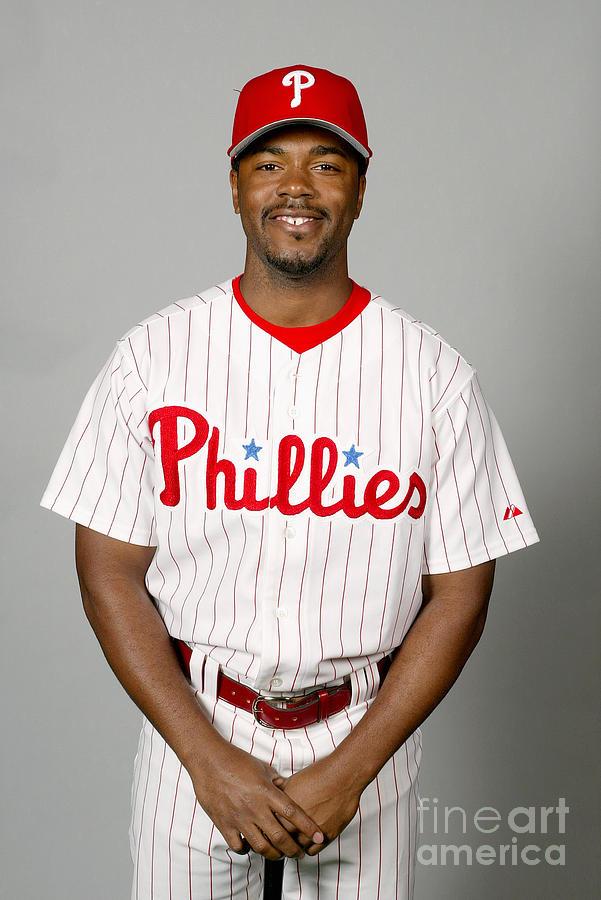 Jimmy Rollins Photograph by Major League Baseball Photos