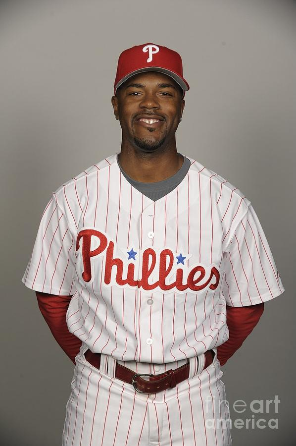 Jimmy Rollins Photograph by Tony Firriolo