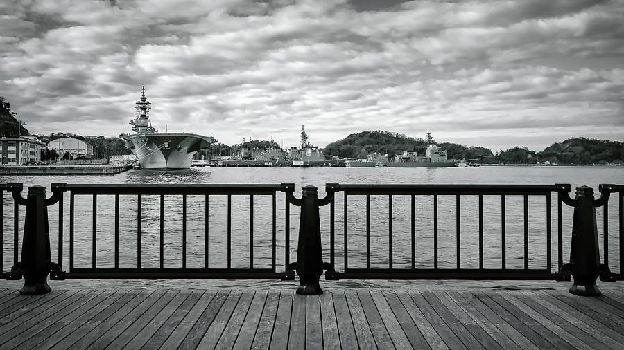 JMSDF Docks by William Chizek
