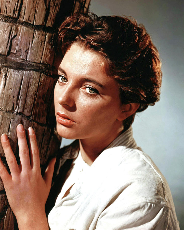 Joan Collins In sea Wife 1957 Photograph