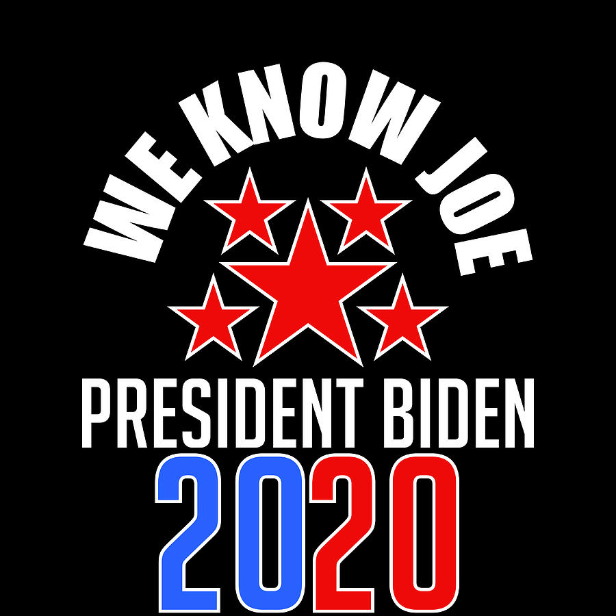 Joe Biden 2020 Campaign For President Tshirt Design Presidency Politics White House Election Mixed Media By Roland Andres