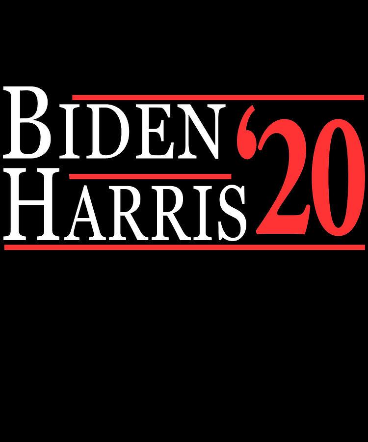 Joe Biden Digital Art - Joe Biden Kamala Harris 2020 by Flippin Sweet Gear
