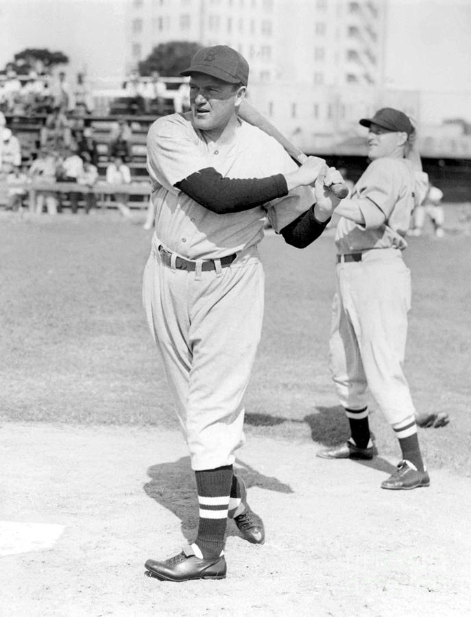 Joe Cronin Photograph by National Baseball Hall Of Fame Library
