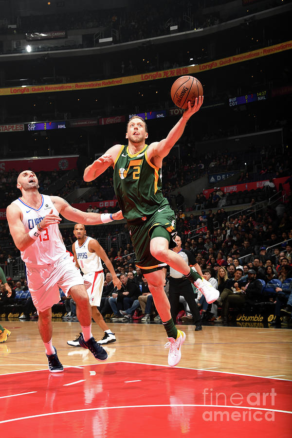 Joe Ingles Photograph by Andrew D. Bernstein