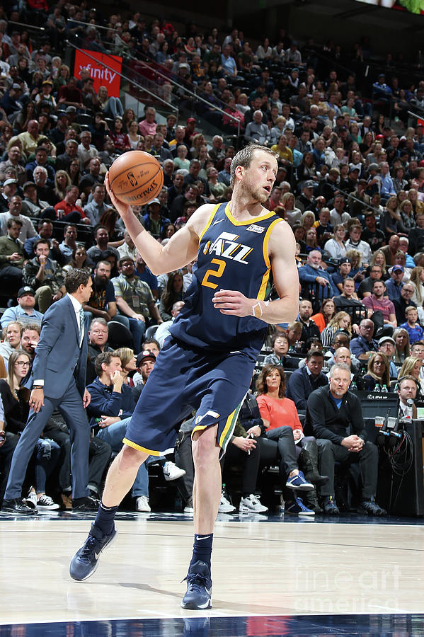 Joe Ingles Photograph by Melissa Majchrzak