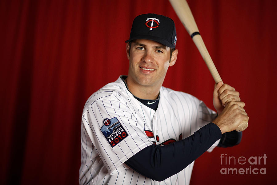 Joe Mauer Photograph by Gregory Shamus