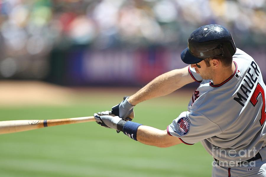 Joe Mauer Photograph by Jed Jacobsohn