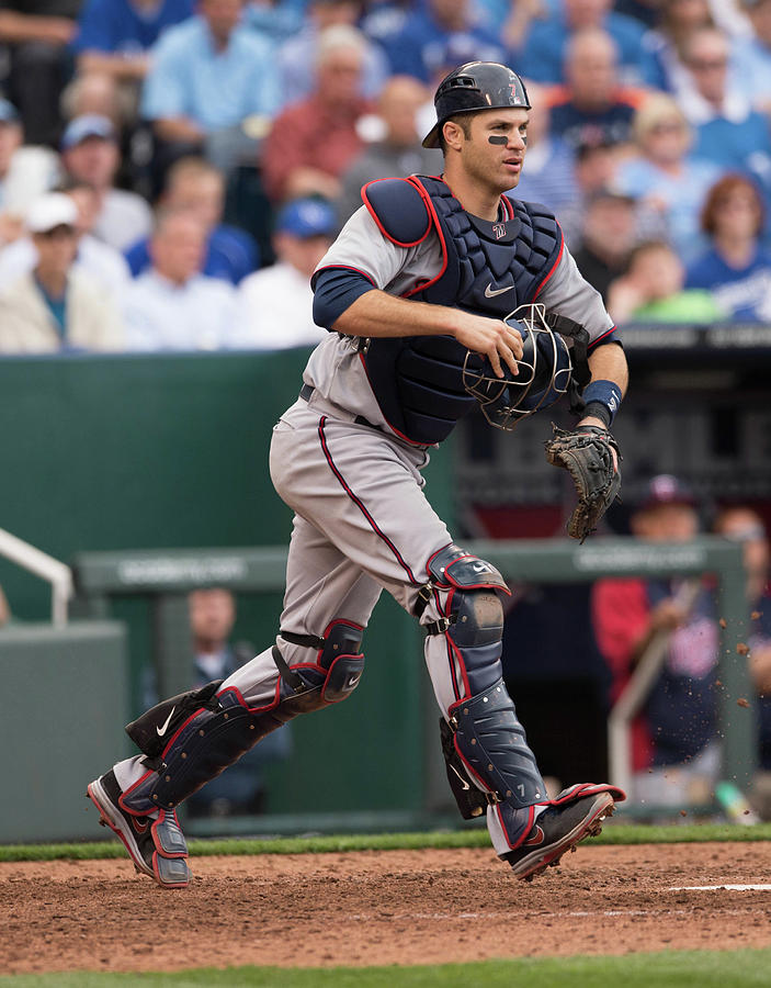 Joe Mauer Photograph by John Williamson