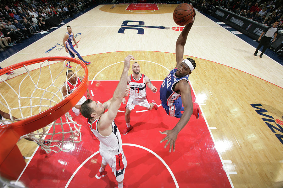 Joel Embiid Photograph by Ned Dishman