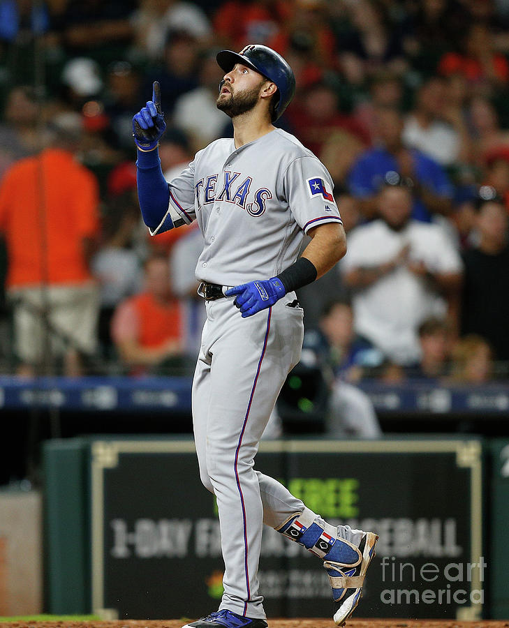 Joey Gallo Photograph by Bob Levey