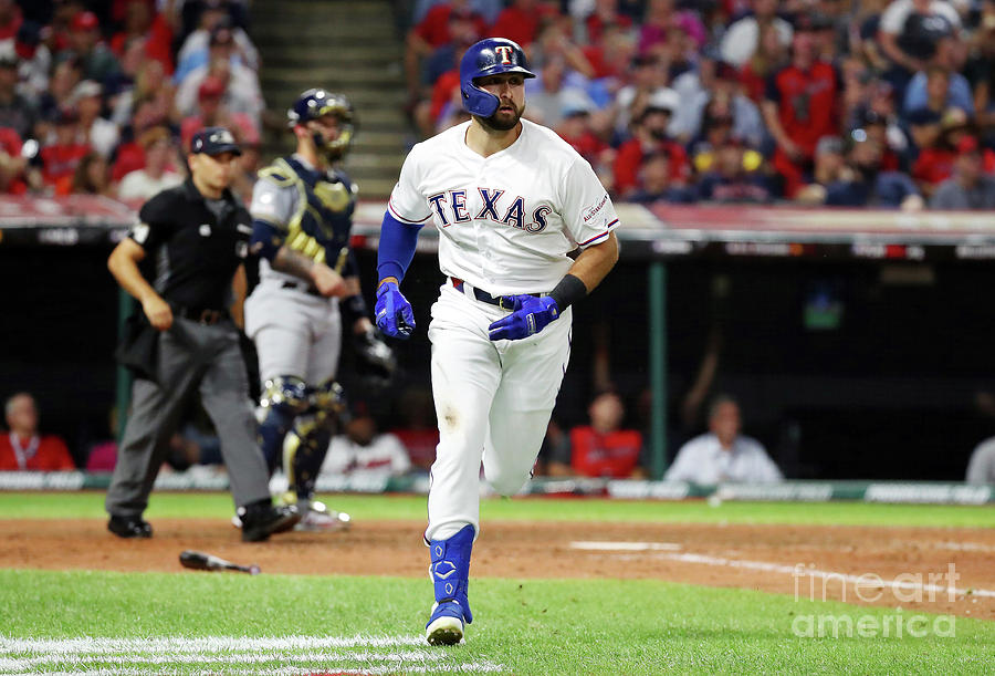 Joey Gallo Photograph by Gregory Shamus