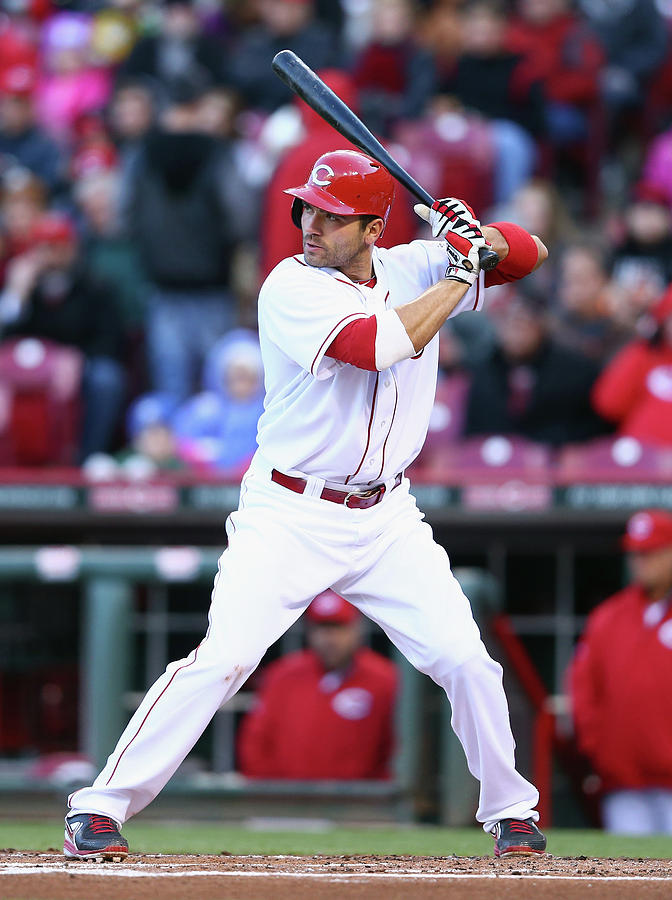 Joey Votto Photograph by Andy Lyons