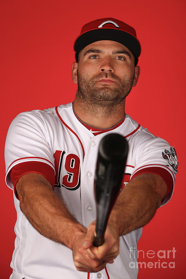 Joey Votto Photograph by Christian Petersen