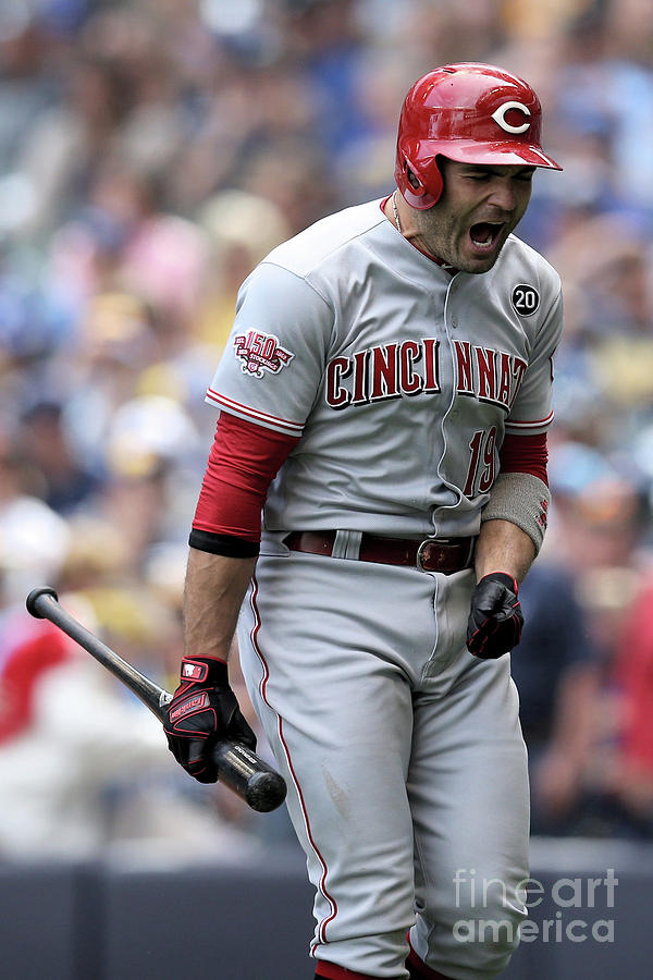 Joey Votto Photograph by Dylan Buell