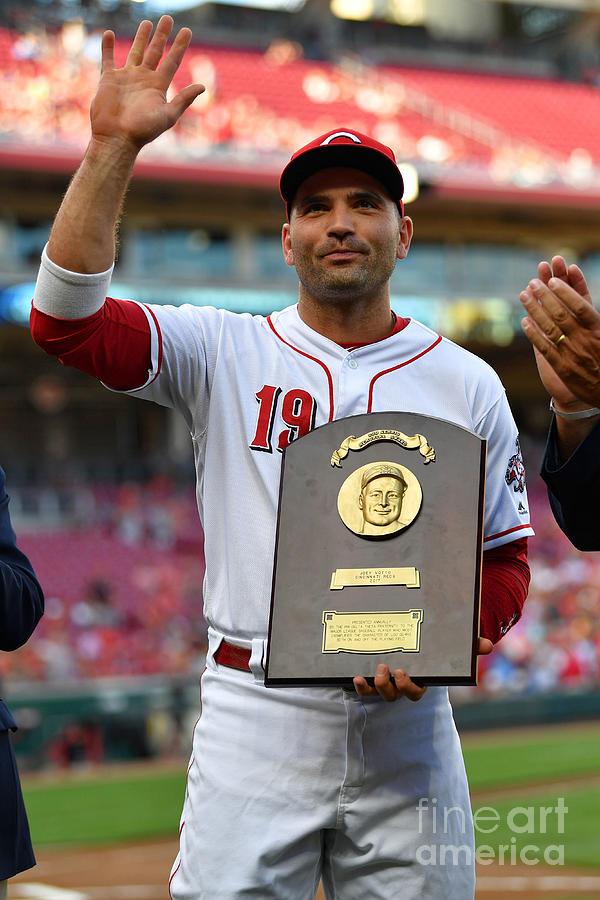 Joey Votto Photograph by Jamie Sabau