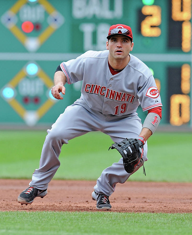 Joey Votto Photograph by Joe Sargent