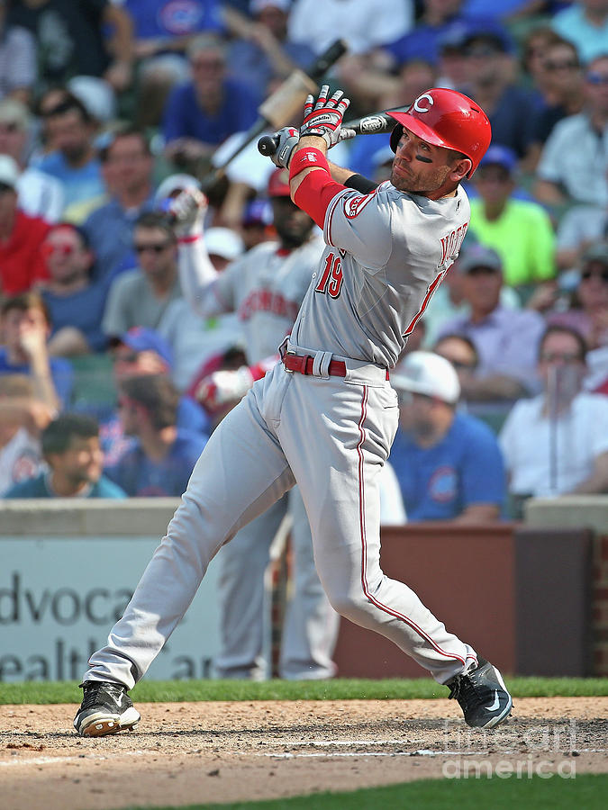 Joey Votto Photograph by Jonathan Daniel
