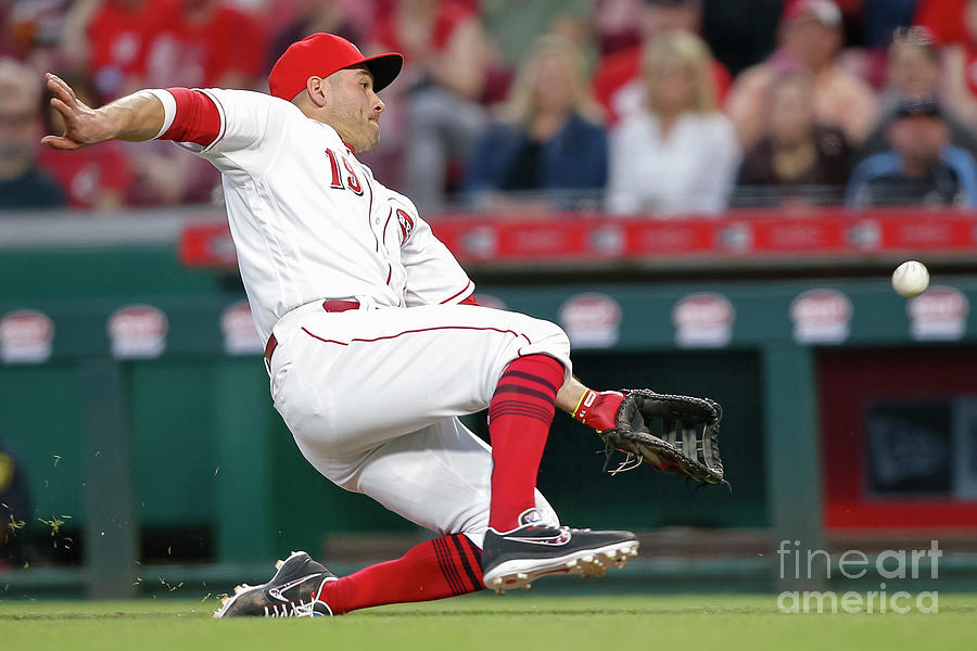 Joey Votto Photograph by Michael Hickey