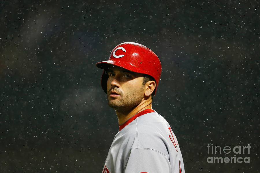 Joey Votto Photograph by Mike Stobe