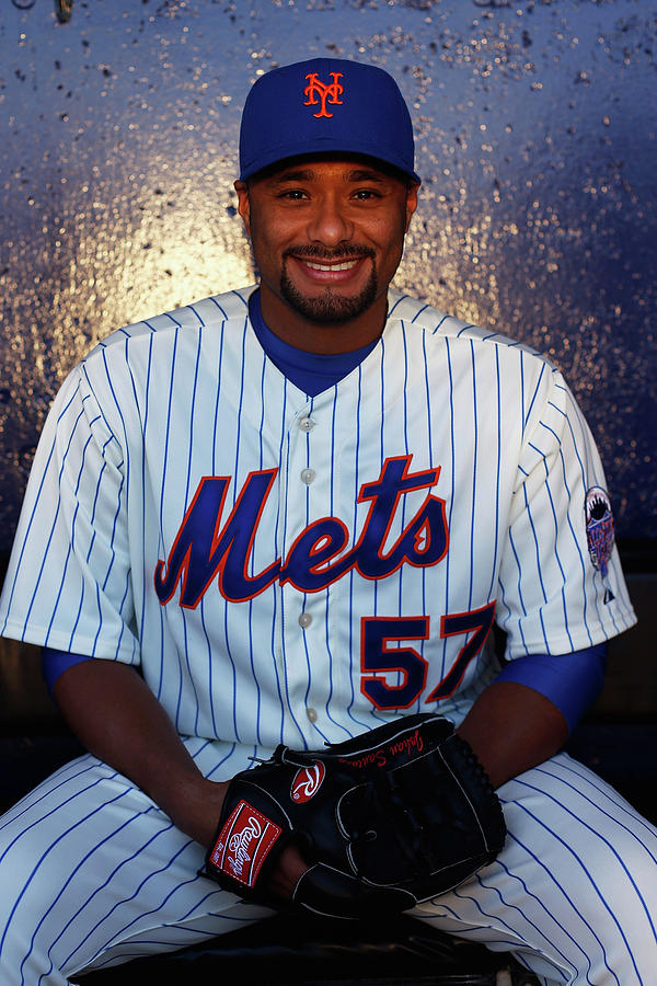 Johan Santana Photograph by Chris Trotman