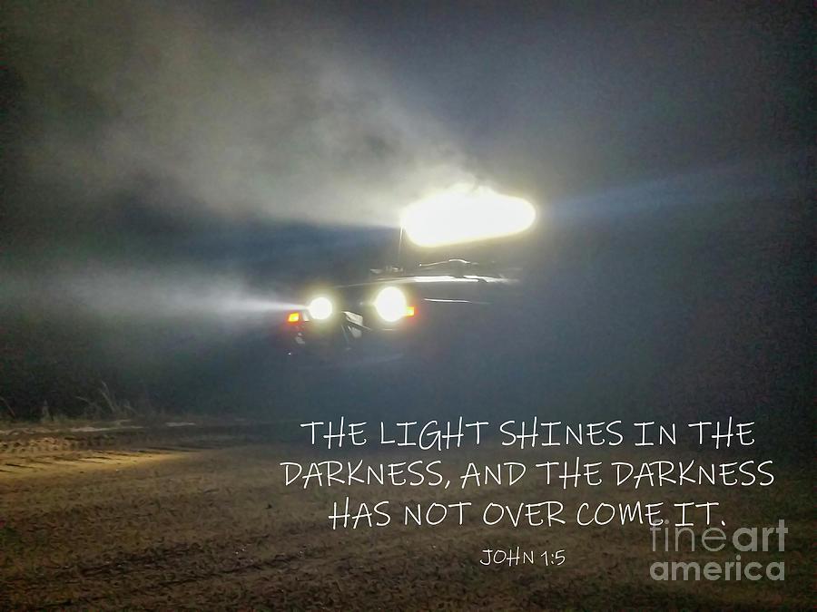 The Light Shines by Tony Baca