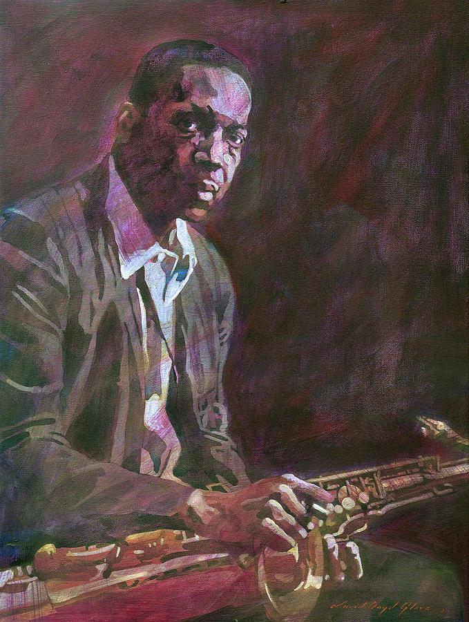John Coltrane Bebop Painting