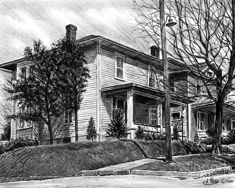John Glenns House Drawing