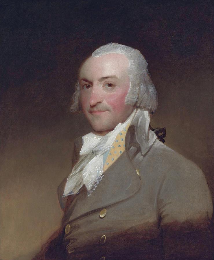 John Jacob Astor Portrait - Gilbert Stuart by War Is Hell Store