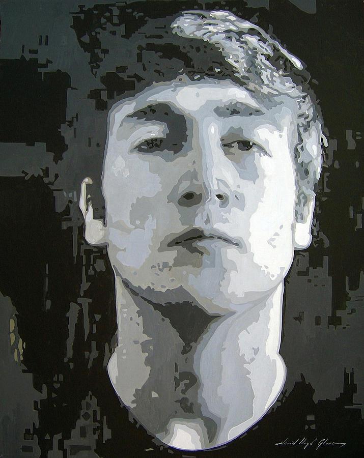 John Lennon - Birth Of The Beatles Painting