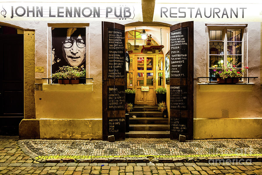 John Lennon Pub by Miles Whittingham