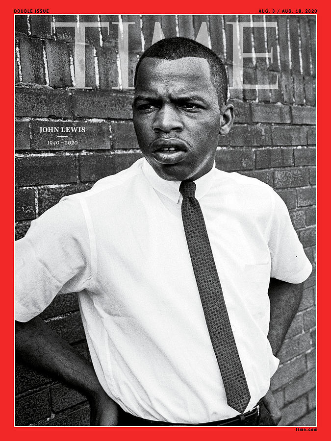 Us House Of Representatives Photograph - John Lewis 1940-2020 by Steve Schapiro Getty Images