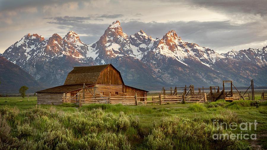 John Moulton Barn, Grand Teton National Park by Ronda Kimbrow
