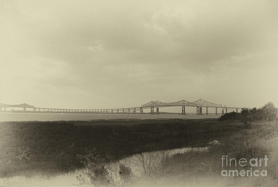John P. Grace Bridge  -  Silas N. Pearman Bridge Photograph