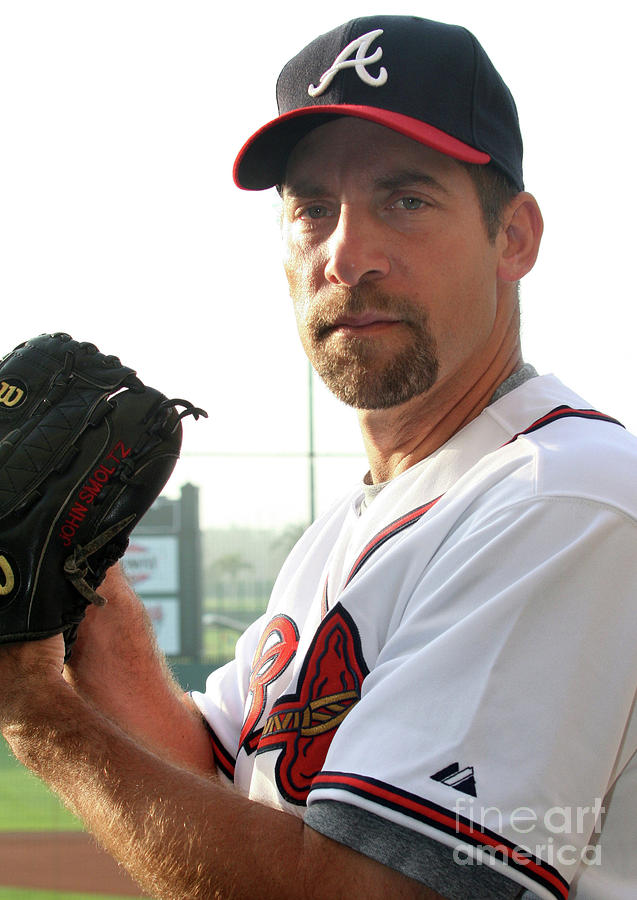 John Smoltz Photograph by Icon Sports Wire