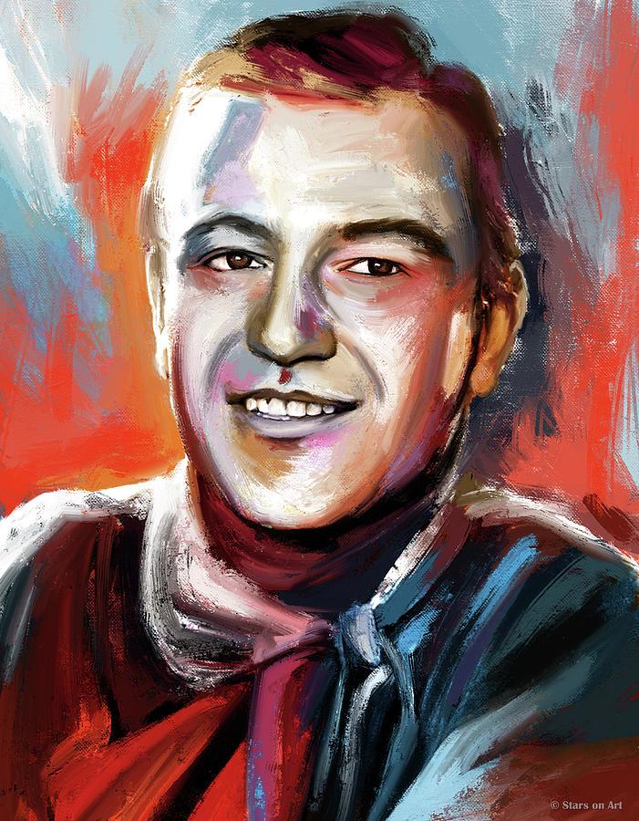John Wayne Painting Painting