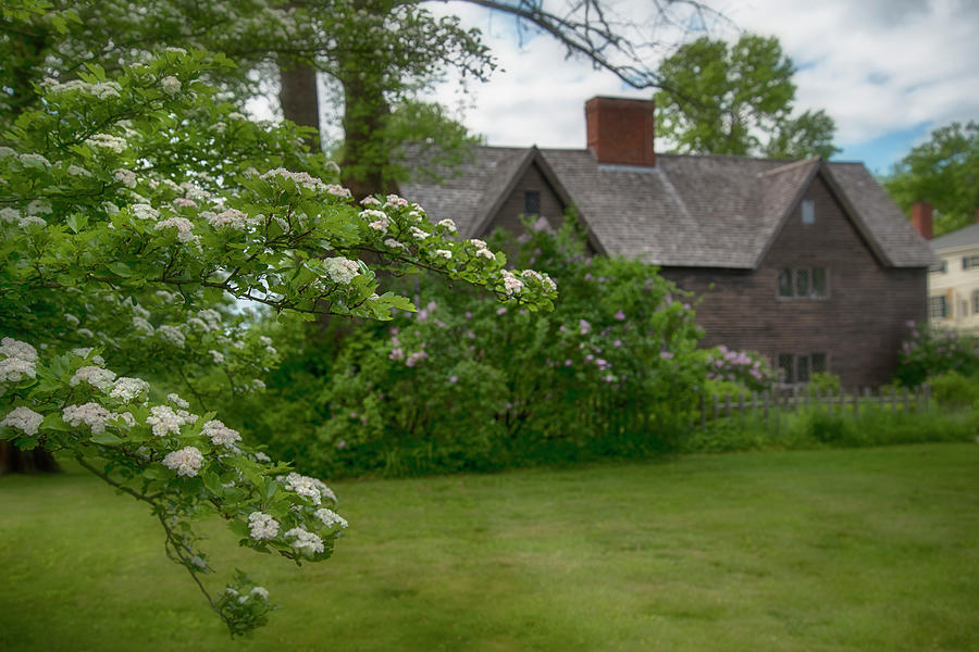 John Whipple House In Spring - Ipswich, Ma Photograph