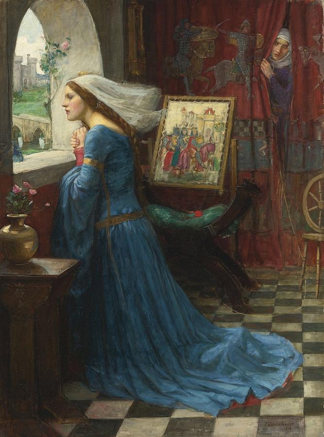 John-william-waterhouse-fair-rosamund-1916 Painting