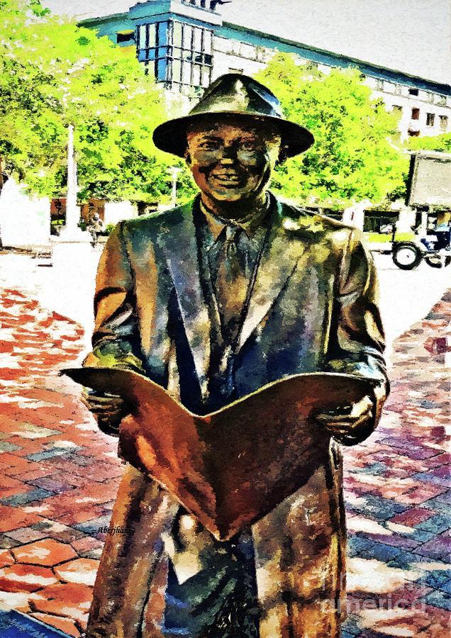 American Music Photograph - Johnny Mercer in Savannah Sunlight by Aberjhani